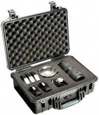 Pelican 1500 Case - Watertight, Crushproof, and Dust Proof Case