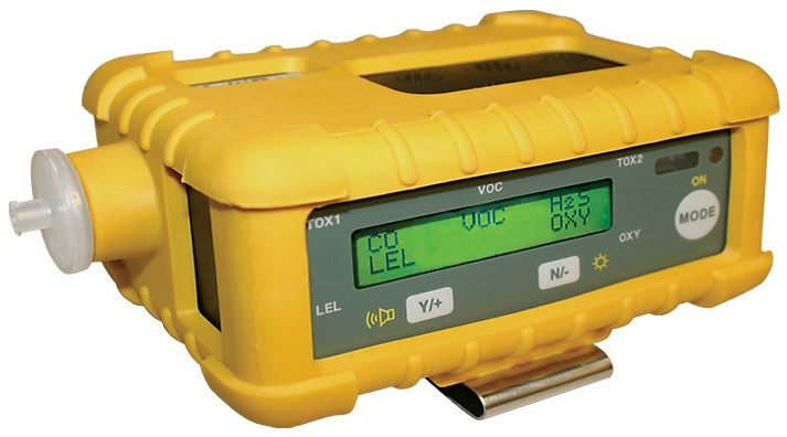 4 Gas Meter : Multirae plus by rae systems multiple gas monitor best