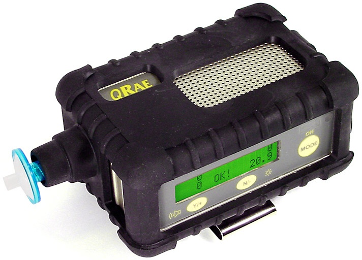 4 Gas Meter : Qrae by rae systems confined space monitor best price