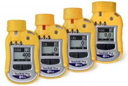 RAE Systems ToxiRAE Pro Series - Single Gas Monitor (O2, Toxic, LEL, PID, or CO2)