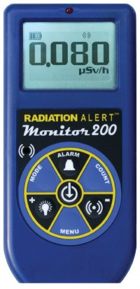 S.E. International Monitor 200 - alpha/beta/gamma/xray radiation detector