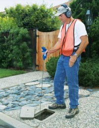 SubSurface Leak Detection LD-8 - Water Leak Detector